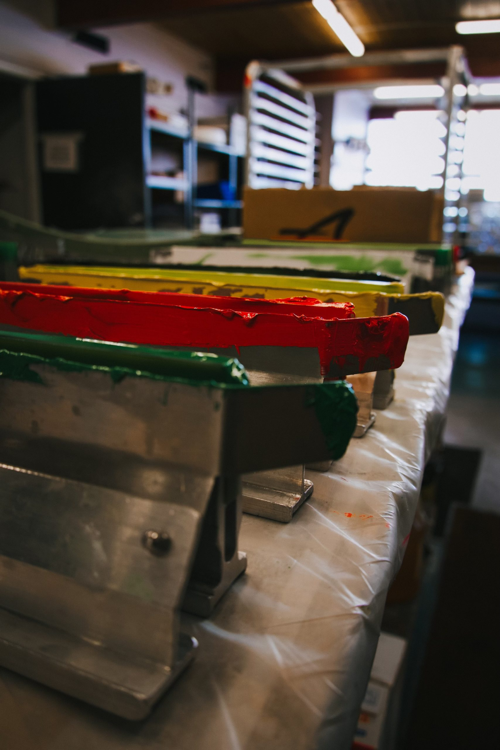Colors for Screen Printing